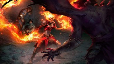 Devour-in-Flames-MtG-Art-Oath-of-the-Gatewatch-